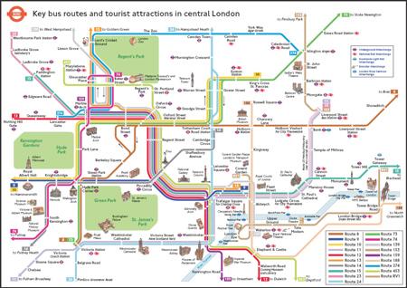 Mapa De Londres Pdf.Guias Y Mapas Metro De Londres