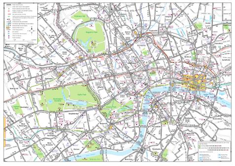 londres mapas: